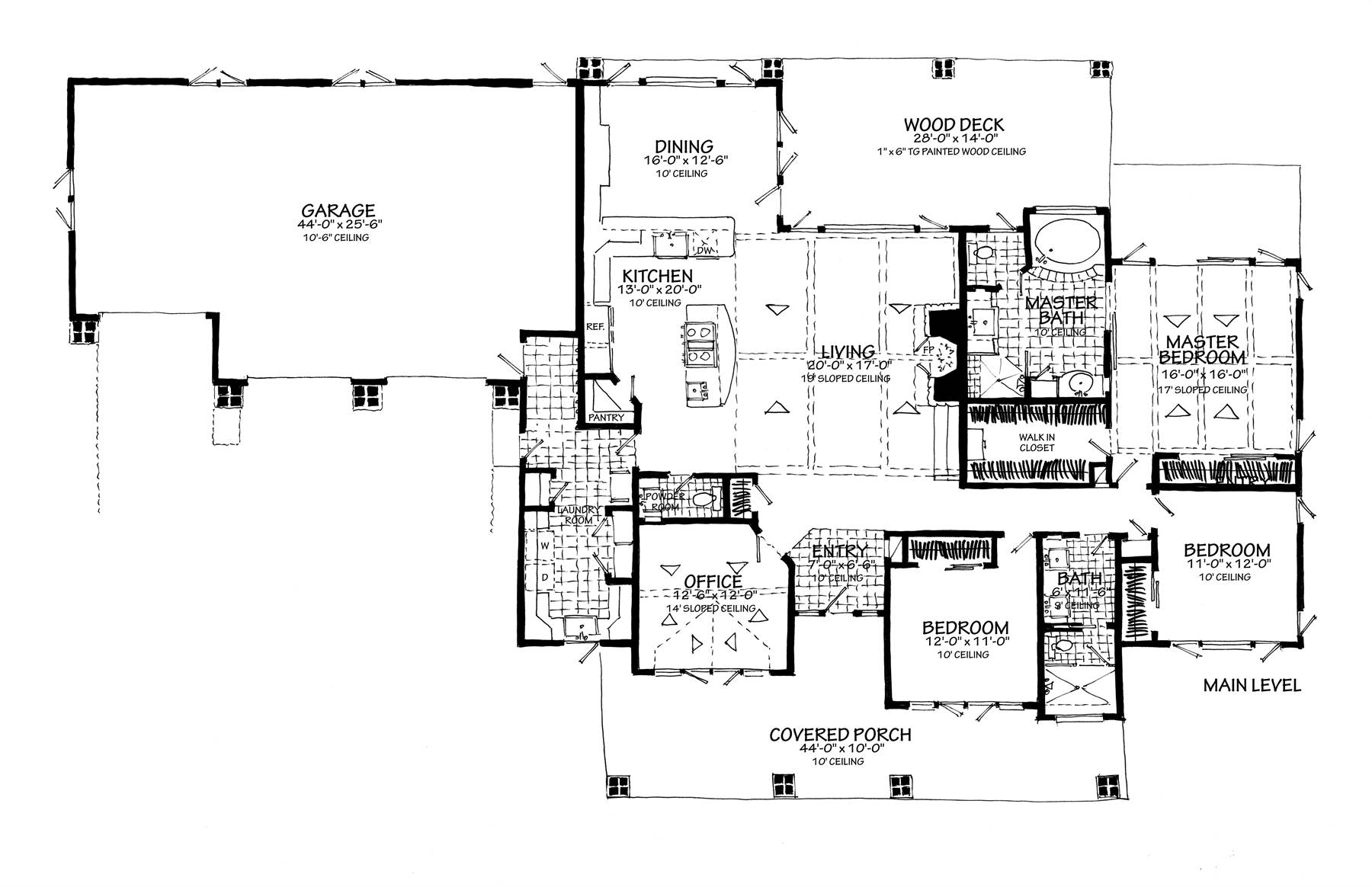 1st Floor Plan no Lower Level
