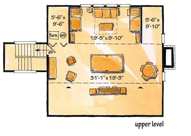 Floor Plan Attic