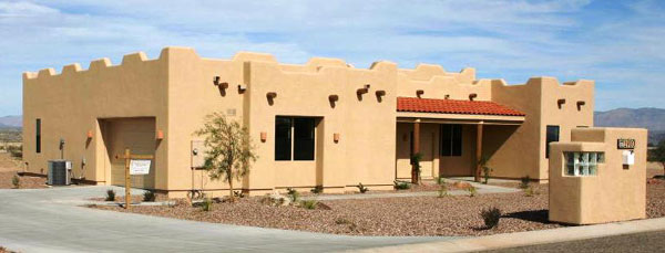 Classic Adobe and Sante Fe house ...