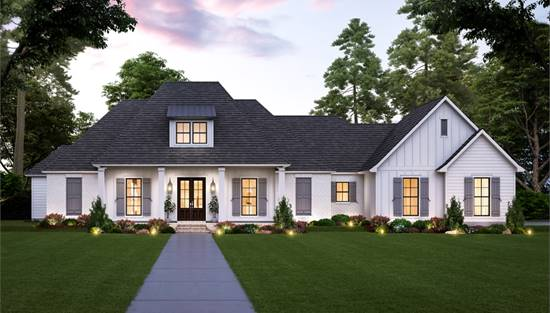 image of The Sandy Ridge House Plan