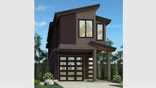 Contemporary House Plans & Small Cool, Modern Home Designs by THD