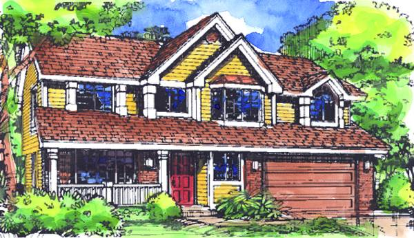 The chadwick 1736 4 bedrooms and 2 baths the house for Chadwick house plan