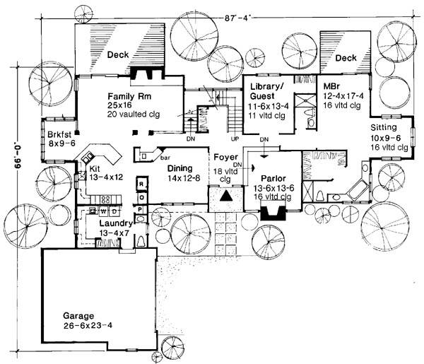 Main Floor Plan image of The Sarah