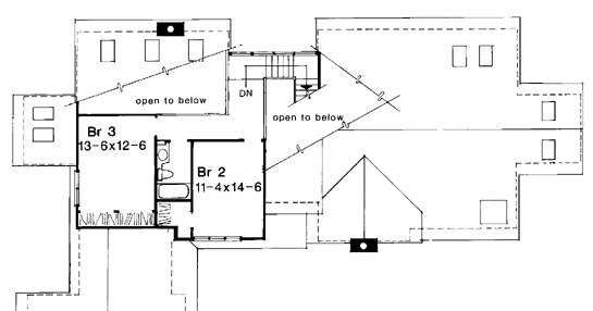 Upper Floor Plan image of The Sarah