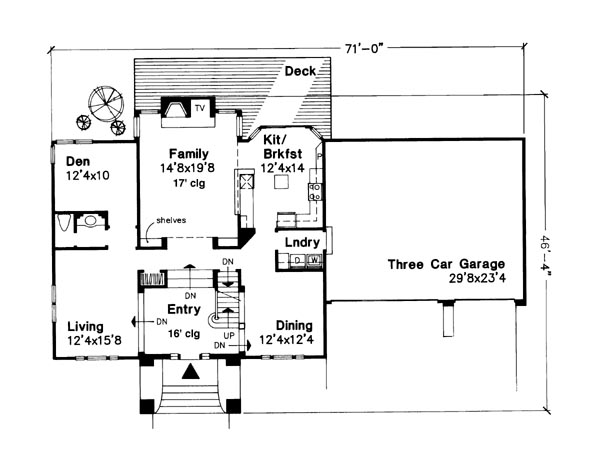 Cape Cod Plans from Houseplans.com - House Plans – Home Plans