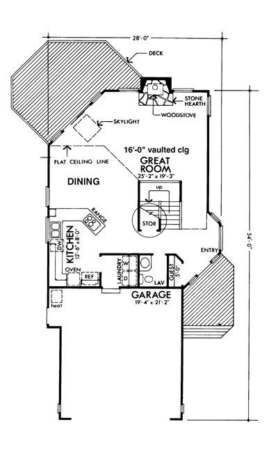 Main Floor Plan image of The Colorado House Plan