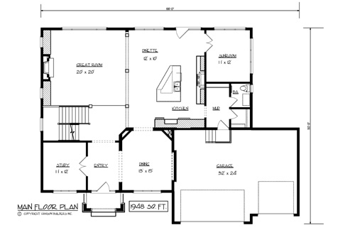 The alexander 1701 5 bedrooms and 3 baths the house for Copying house plans