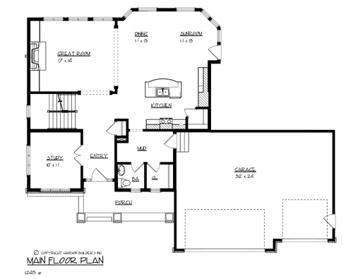 The canadian 1702 4 bedrooms and 2 baths the house for Copying house plans