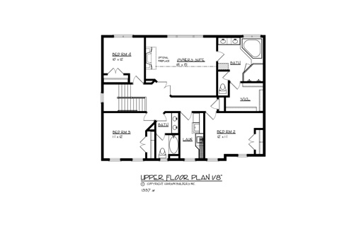 the travis 1703 4 bedrooms and 2 baths the house designers