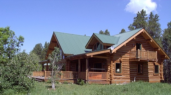 Timber Meadow Log Cabin 9447 - 3 Bedrooms and 3 Baths | The House ...