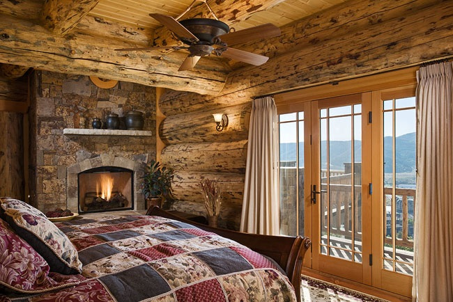 ultimate log home 9436 5 bedrooms and 4 baths the house designers
