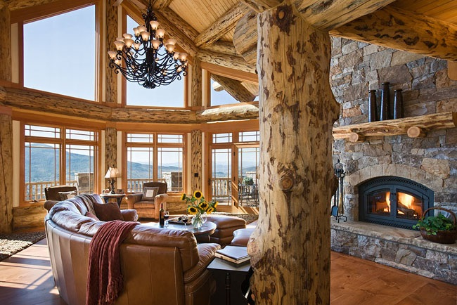 Ultimate Log Home 9436 5 Bedrooms And 4 Baths The