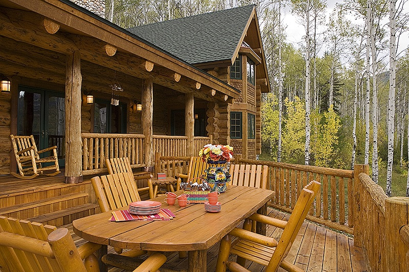 the hudson log home 9432 4 bedrooms and 4 baths the house designers