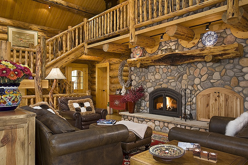 the hudson log home 9432 4 bedrooms and 4 baths the