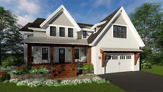 image of Easton Farmhouse House Plan