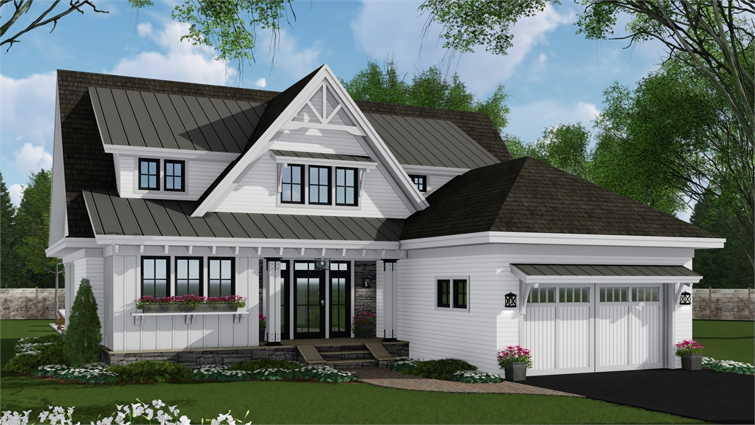 Remarkable Cottage Style House Plan 7262 Mayflower