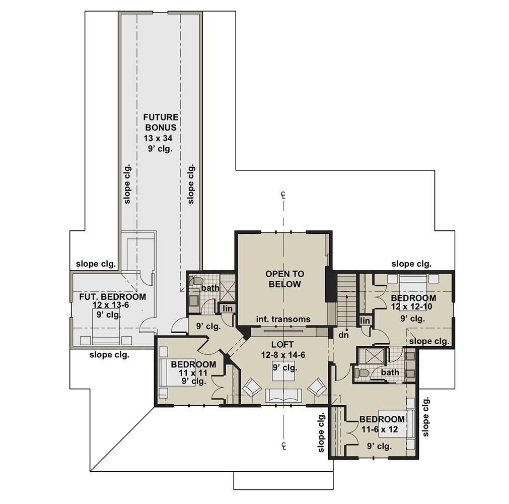 Farm House Style Plan 7811