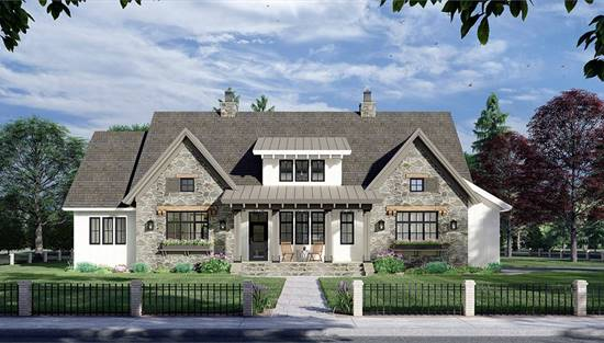image of The Royal Oaks House Plan