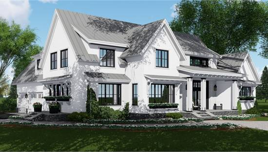 Farmhouse Plans Country Ranch Style Home Designs