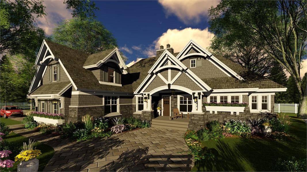 Four Bedroom Bungalow House Plan