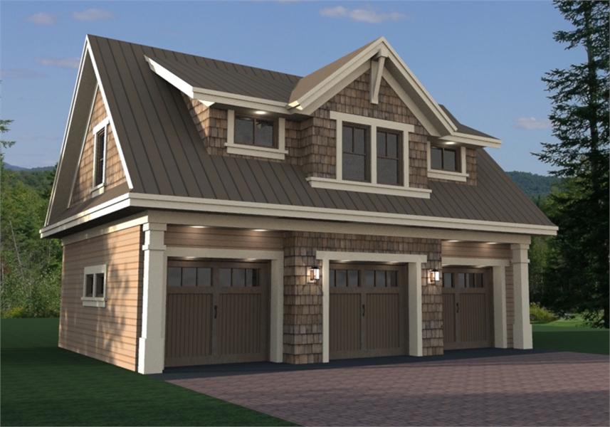 Garage Plans, Loft Designs, Garage Apartment Plans for Cars & RVs