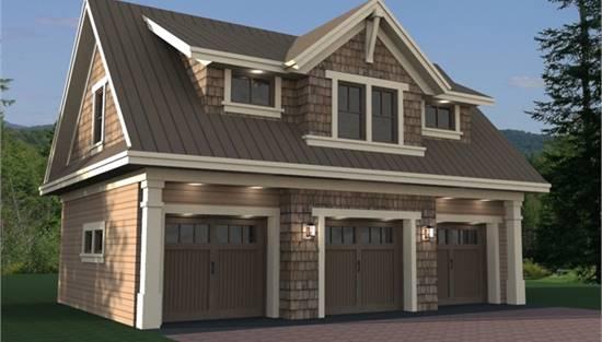 Detached Garage Plans With Loft, Garage Plans With Bonus Room