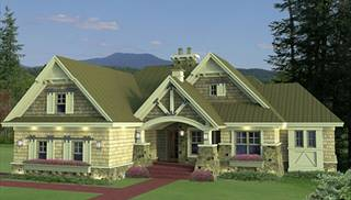 image of cranston house plan - Cottage Style House Plans