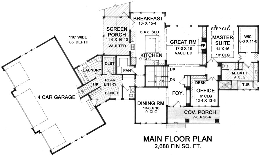retreat house plan