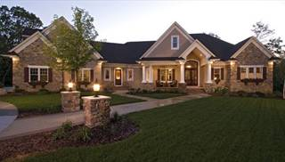 Country French House Plans & Euro Style Home Designs by THD