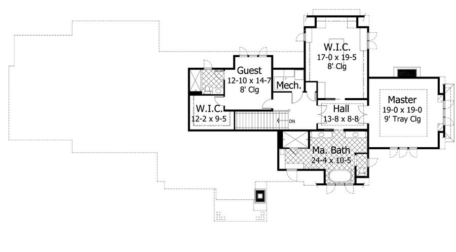 2nd Floor Plans Part - 48: 2nd Floor Plan