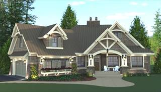 Craftsman House Plans - The House Designers on single story cabin homes, single story european home plans, single story contemporary home designs,
