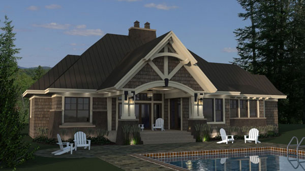 Three Bedroom Cottage House Plan