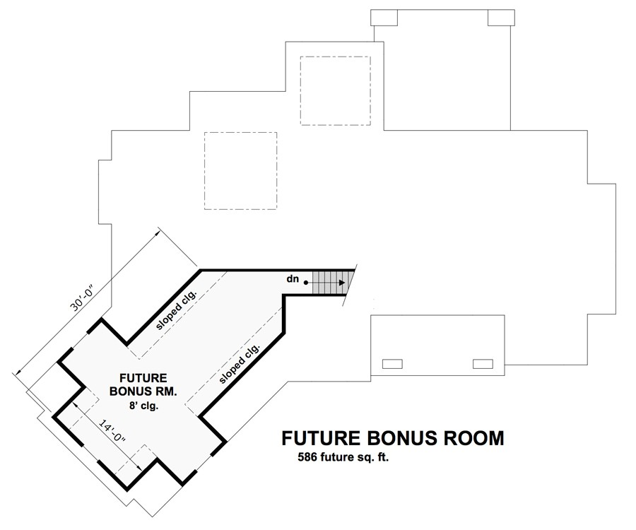 Bonus Floor Plan