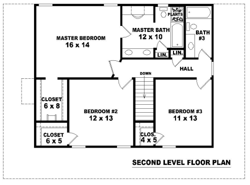 Country dream 8077 3 bedrooms and 2 baths the house for Blueprints for my house