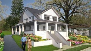 narrow lot house plans small unique home floorplans by thd