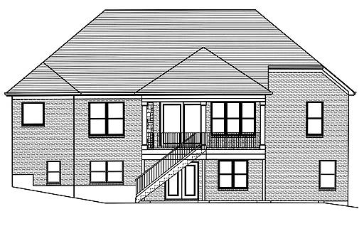 SRD 712 Belmont Rear Elevation