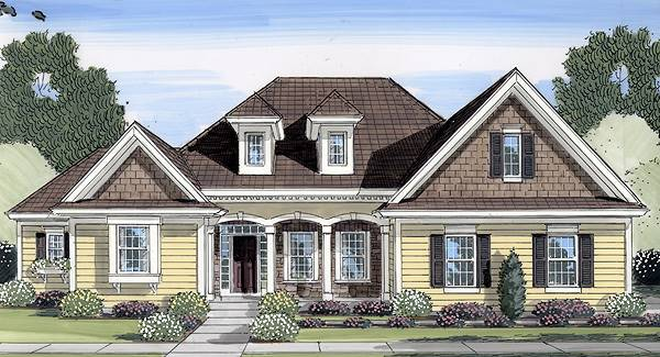 4 Bedroom Ranch Style House Plan 9111: Kenworth