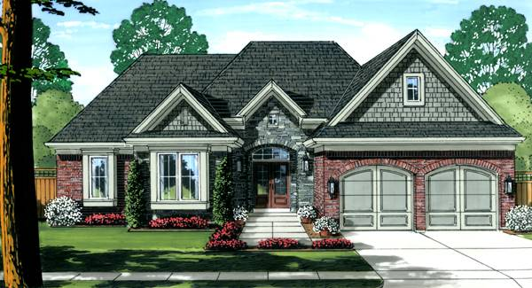 Antioch Front Color Elevation