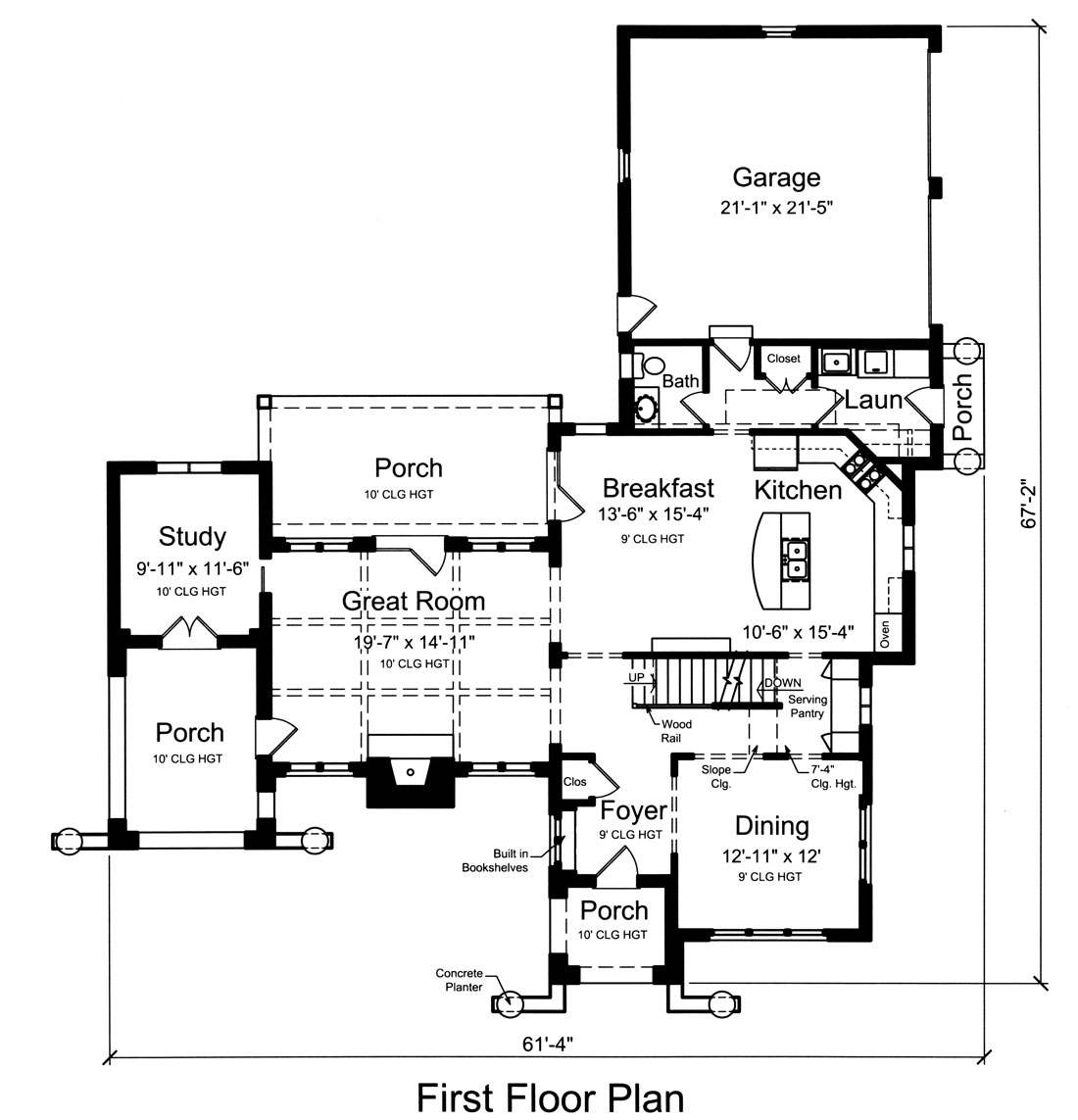 Bryer Rose 9104 4 Bedrooms And 3 Baths The House Designers