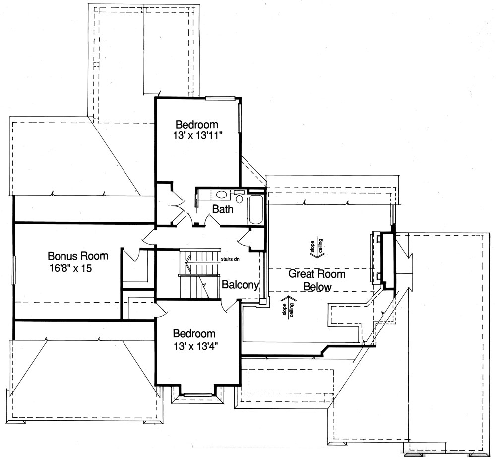 Coventry 9088 4 Bedrooms And 2 Baths The House Designers