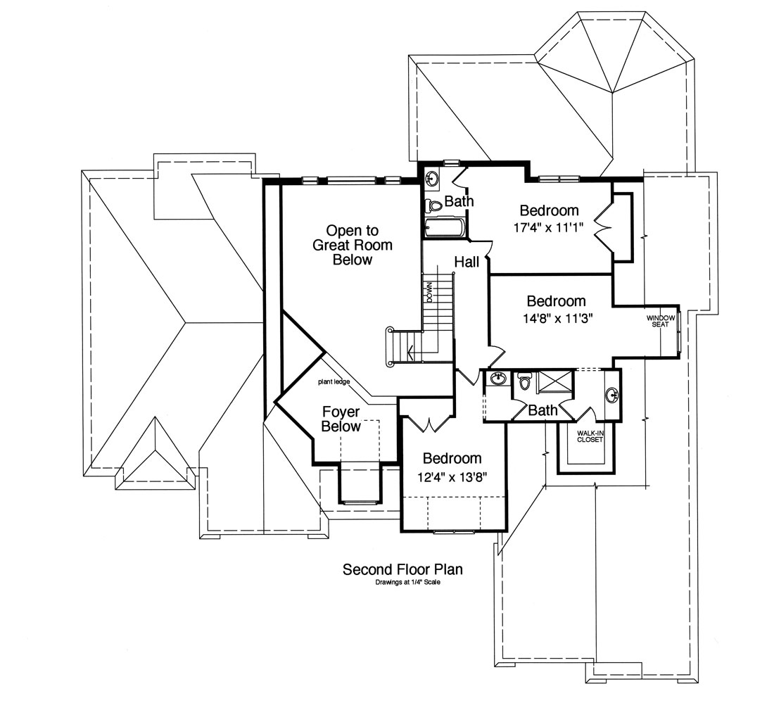 Chatham 9091 4 Bedrooms And 3 Baths The House Designers