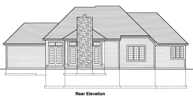 bonnie lynn 9078 - 3 bedrooms and 2 baths | the house designers