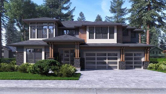 image of Open Contemporary House Plan