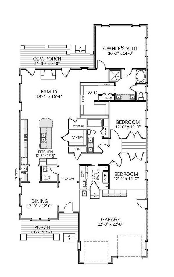 Cotswold 9651 3 Bedrooms And 2 Baths The House Designers