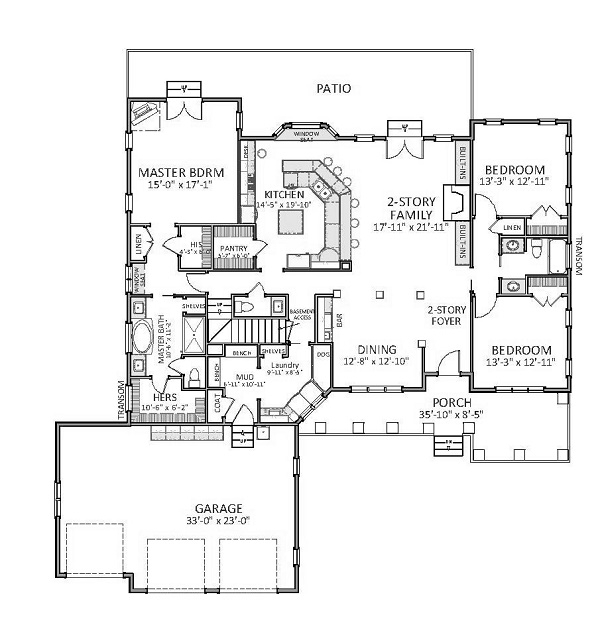 Vandalia 9376 3 Bedrooms And 2 Baths The House Designers. Portable Goat Shelter  Plans Beautiful ...