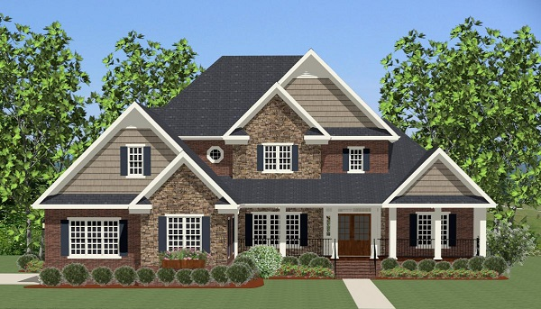Grandover 6822 5 Bedrooms and 3 Baths The House Designers