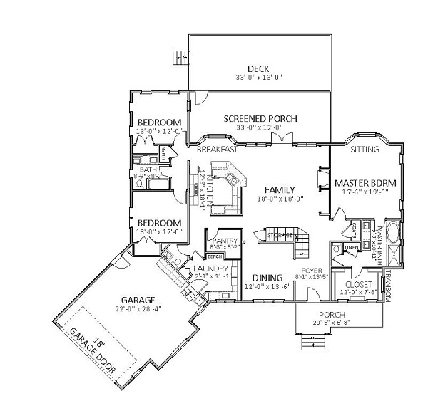Stoney Creek 9016 - 3 Bedrooms and 3 Baths | The House Designers on house construction plans, house plant names, london names, feng shui names, perspective names, design names, house development names, house structure names, studio names, color names, house of names, roof names, house plans in zimbabwe, house model names, house construction drawings,