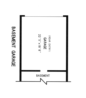 basement garage plan