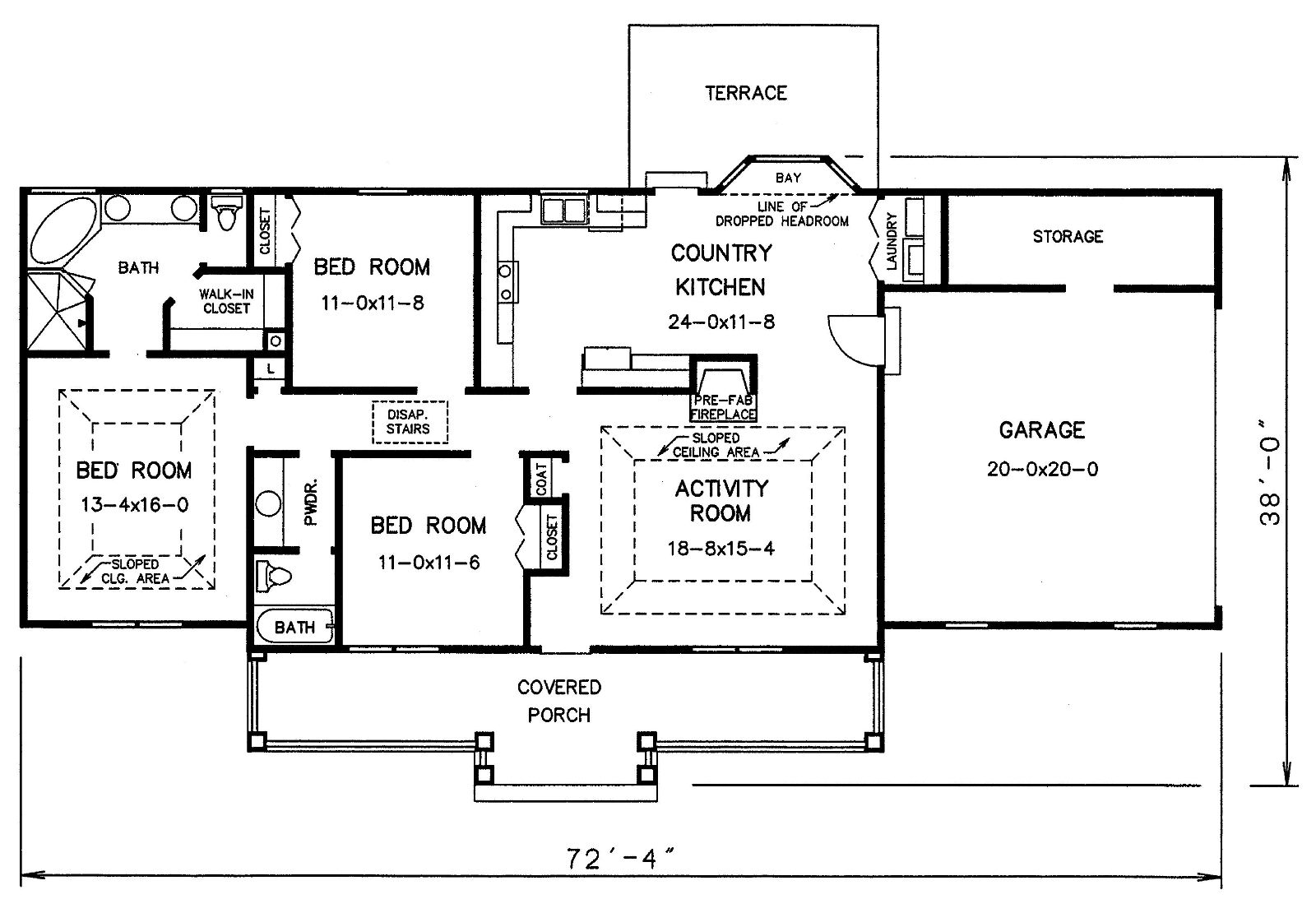 Stone House Floor Plans Woodideas