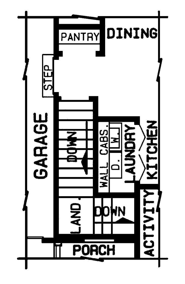 part floor plan